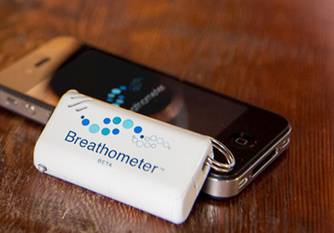 Smartphone-Breathalyzer