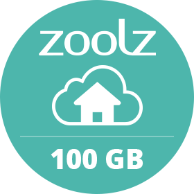 Zoolz Home 100GB Plan