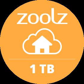 ZoolzHome 1TB Plan